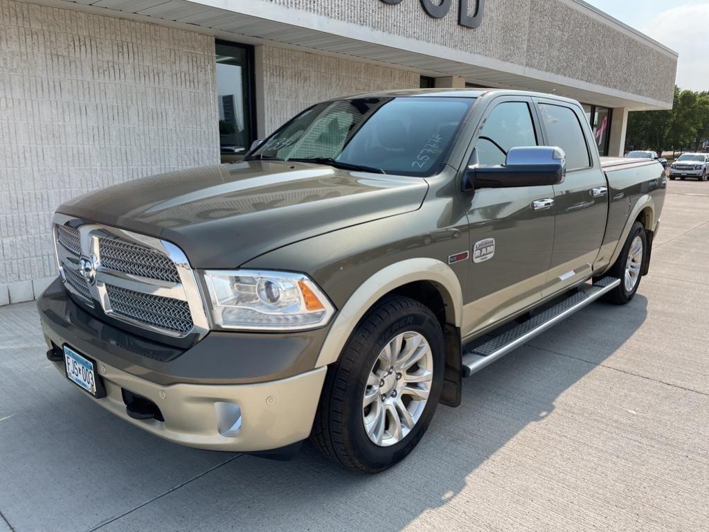 Used 2014 RAM Ram 1500 Pickup Laramie Longhorn with VIN 1C6RR7WM6ES371392 for sale in Marshall, Minnesota