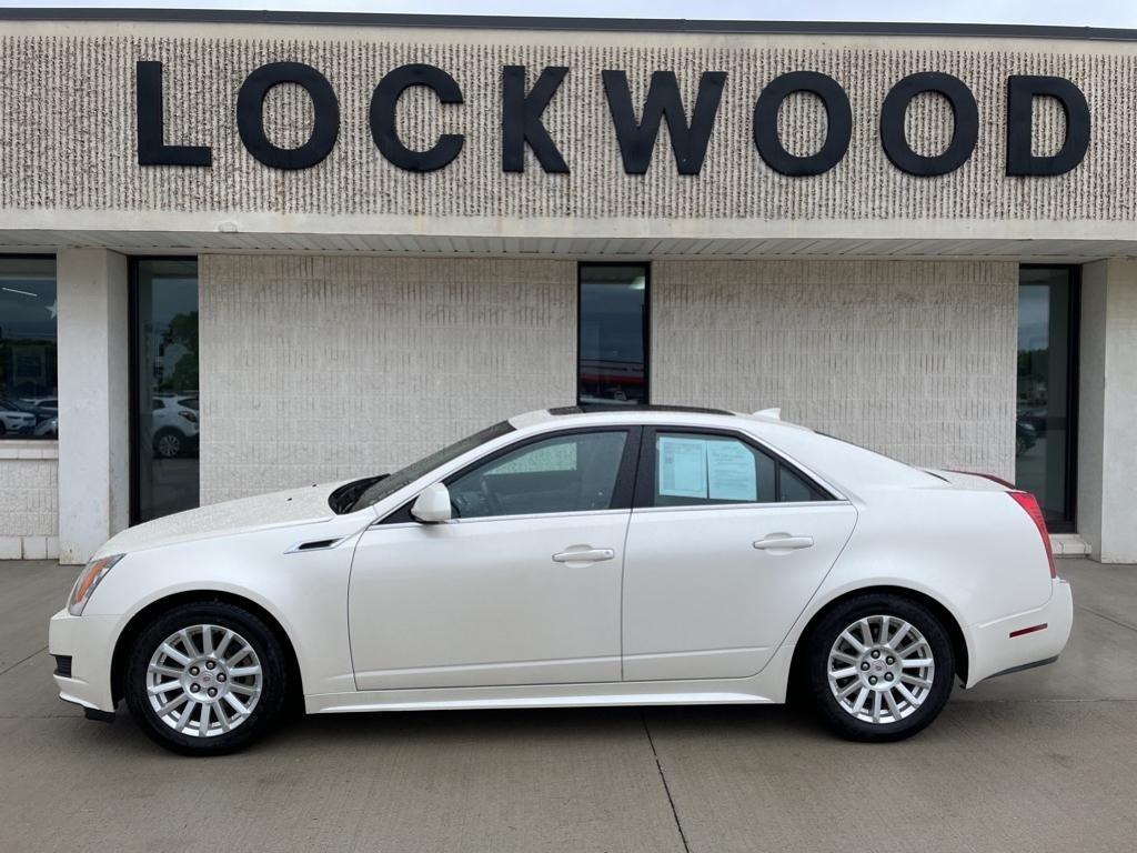 Used 2012 Cadillac CTS Sport Sedan Luxury Collection with VIN 1G6DE5E53C0101528 for sale in Marshall, Minnesota