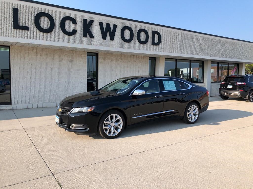 Used 2018 Chevrolet Impala Premier with VIN 2G1125S38J9127808 for sale in Marshall, Minnesota